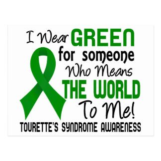 Means The World To Me 2 Tourette's Syndrome Postcard
