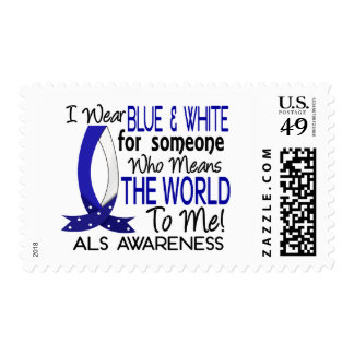 Means The World To Me ALS Stamp