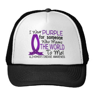 Means The World To Me Alzheimer's Disease Trucker Hat