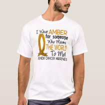 Means The World To Me Appendix Cancer T-Shirt