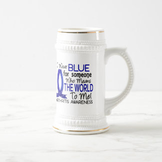 Means The World To Me Arthritis 18 Oz Beer Stein