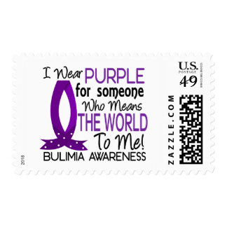 Means The World To Me Bulimia Postage Stamps