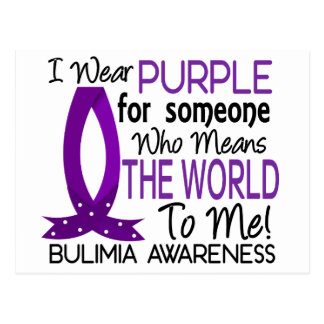 Means The World To Me Bulimia Postcard