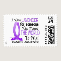 Means The World To Me Cancer Postage