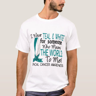 Means The World To Me Cervical Cancer T-Shirt