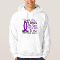 Means The World To Me Crohn's Disease Hoodie