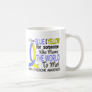Means The World To Me Down Syndrome Mugs
