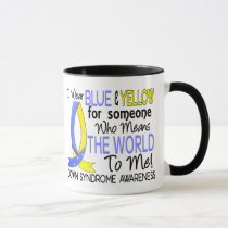 Means The World To Me Down Syndrome Mug