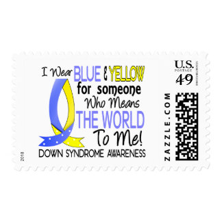 Means The World To Me Down Syndrome Postage Stamp