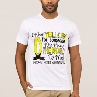 Means The World To Me Endometriosis T-Shirt