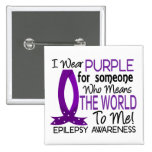 Means The World To Me Epilepsy Button