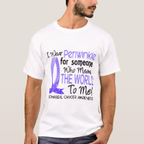 Means The World To Me Esophageal Cancer T-Shirt