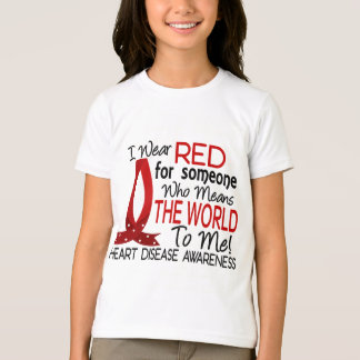 Means The World To Me Heart Disease T-Shirt