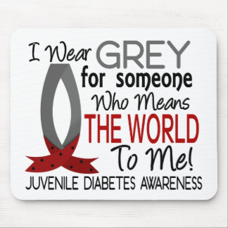 Means The World To Me Juvenile Diabetes Mouse Pad