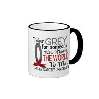 Means The World To Me Juvenile Diabetes Ringer Coffee Mug