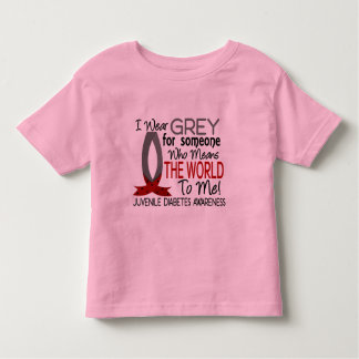 Means The World To Me Juvenile Diabetes Toddler T-shirt