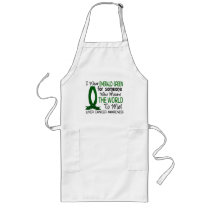 Means The World To Me Liver Cancer Long Apron