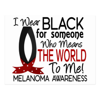 Means The World To Me Melanoma Postcard