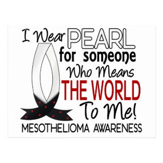 Means The World To Me Mesothelioma Postcard