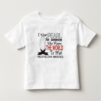 Means The World To Me Mesothelioma Toddler T-shirt