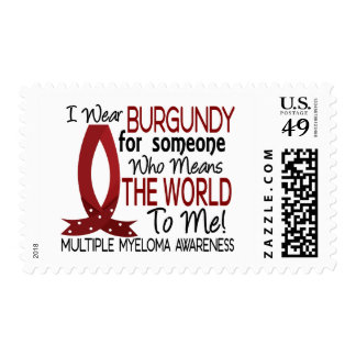 Means The World To Me Multiple Myeloma Stamp