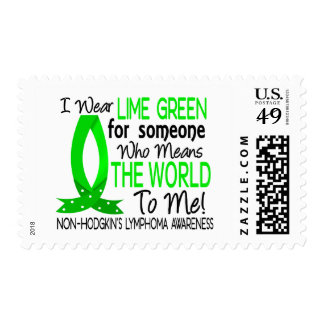Means The World To Me Non-Hodgkin's Lymphoma Postage Stamps