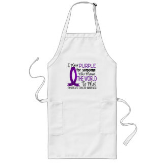 Means The World To Me Pancreatic Cancer Long Apron