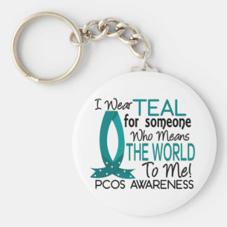 Means The World To Me PCOS Keychain