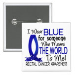 Means The World To Me Rectal Cancer Pin