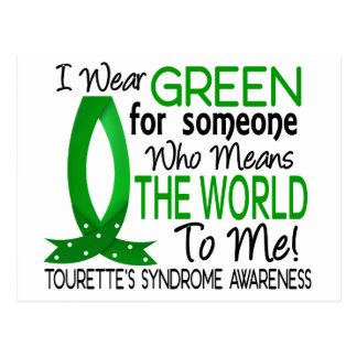 Means The World To Me Tourette's Syndrome Postcard
