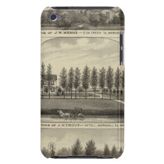 Means, Trout and Sabins in Kansas iPod Case-Mate Case