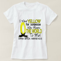 Means World To Me 1 Spina Bifida T-Shirt