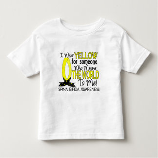 Means World To Me 1 Spina Bifida Toddler T-shirt