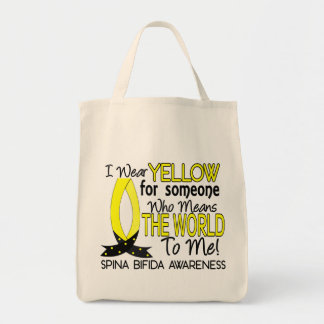 Means World To Me 1 Spina Bifida Tote Bag