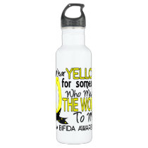 Means World To Me 1 Spina Bifida Water Bottle