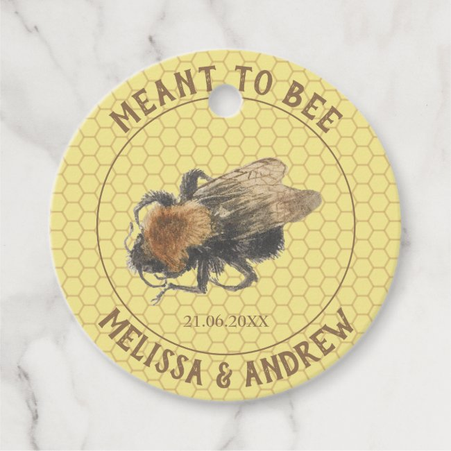 Meant to Bee, Vintage Honeybee & Honeycomb Wedding