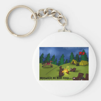 Meanwhile @ Boot Camp Funny Tees Cards Gifts Etc Keychain