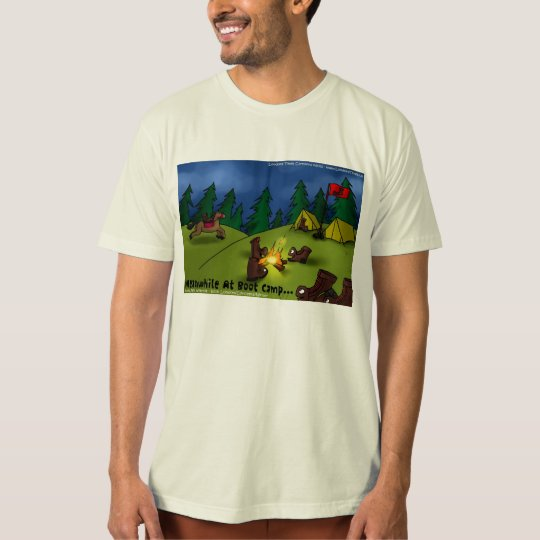 Meanwhile @ Boot Camp Mens Organic Cotton Tees