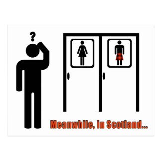 Kilt Bathroom Sign kilt joke gifts on zazzle