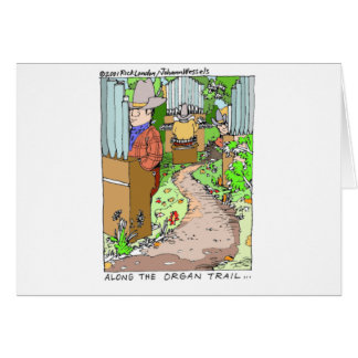 Meanwhile On The Organ Trail Funny Tees Mugs Etc Greeting Cards
