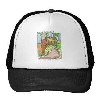 Meanwhile On The Organ Trail Funny Tees Mugs Etc. Trucker Hat