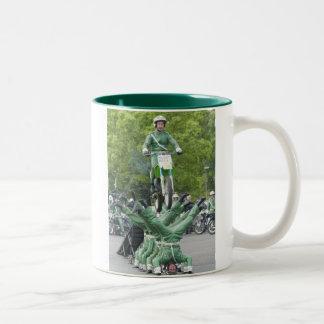 Meanwhile Two-Tone Coffee Mug