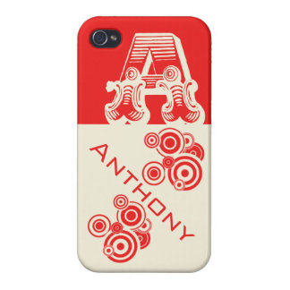 """MeAproved """"Anthony""""  iPhone 4 Glossy Finish Case"""