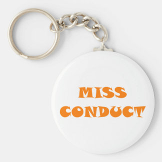 Measure conduct misconduct keychain