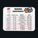 "Measure Magnet for Kitchen<br><div class=""desc"">Measure equivalent magnet for easy reference</div>"