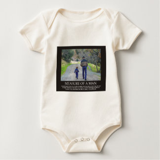 Measure of a Man in the Life of a Child Bodysuit