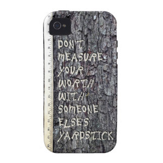 Measure of Your Worth Vibe iPhone 4 Cases