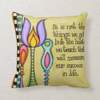 Measure Our Success Throw Pillow