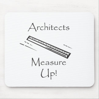 Measure Up Mouse Pad
