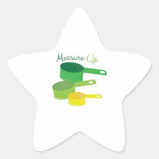 Measure Up Star Sticker